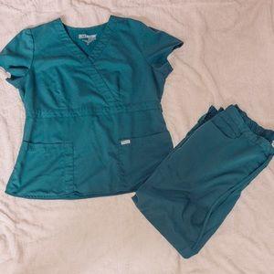 Grey's Anatomy by Barco scrub set